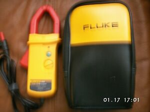 Fluke I410 Ac dc Current Clamp Multimeter Accessory Vgc With Case