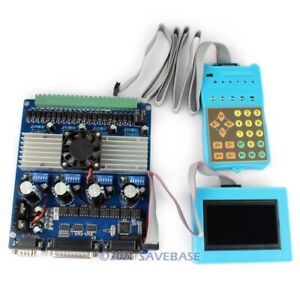 4 Axis Cnc Router Tb6560 Stepper Motor Driver Lcd Display Keypad Gcode Record
