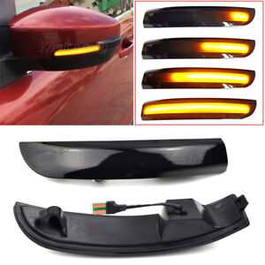 Led Sequential Dynamic Turn Signal Light For Ford Focus 3 Mk3 2012 2018 Se St Rs