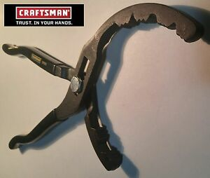Usa Black Gold Craftsman Wide Jaw Adjustable Pliers 2 To 5 Spring Hndl Usa