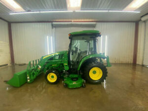 2017 John Deere 3046r Hst Cab With A c And Heat 4wd 46 Hp Warranty Until 2023