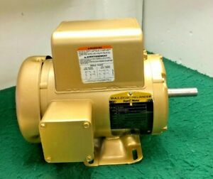 Baldor El3504 1 2hp 1 Phase Electric Motor