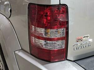 2008 2009 2010 2011 2012 Jeep Liberty Driver s Left Rear Tail Light Lamp Lens