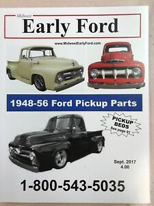 1953 1954 1955 1956 Early Ford Pickup Truck Parts Catalog