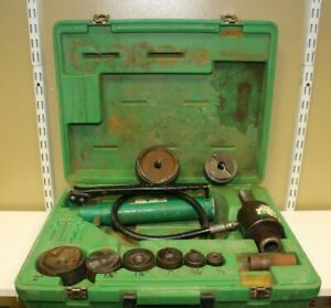 Greenlee Knockout Hydraulic Kit With 767 Hand Pump