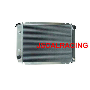 3rows Aluminum Radiator Fit Ford Mustang Gt Gl Glx Gt Ghia V8 79 93 At Mt 138b