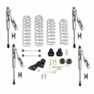 Rubicon Express Re7121fpr 2 5 Standard Coil Lift Kit With Fox Resi Shocks New