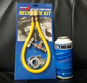 R12 R 12 Refrigerant One Can By Ig Lo W Oil With A New Hose Can Tapper X1