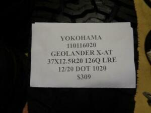 1 New Yokohama Geolander X at 37 12 5 20 126q Lre Tire 110116020 Q0