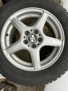 msw Wheels Great Condition 15 And Snow Tires