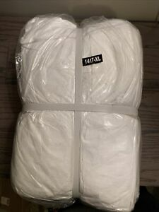 Dupont Tyvek 400 Coveralls Collar No Hood Xl New Case Of 25