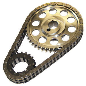 Double Roller Timing Chain Set Ford 302 351w 9 Keyway Howards Cams 94312