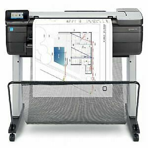 Hp Designjet T830 24 Wide Large Format Mfp Scanner Printer All In One New Cad