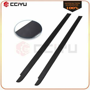For 2014 2020 Toyota Tundra 6 5ft Bed Black Truck Rail Caps Cover Molding