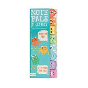 Ooly Note Pals Sticky Tabs Monster Pals