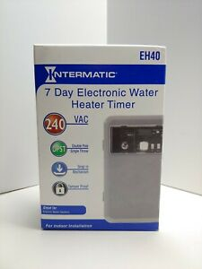 New Intermatic Eh40 7 Day Electronic Water Heater Timer Sealed