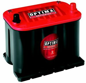 Optima Redtop Agm Spiralcell Automotive Battery Group Size 35 Red