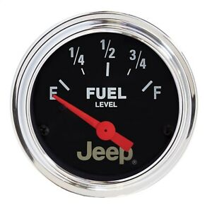 Autometer 880243 Jeep Electric Fuel Level Gauge