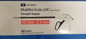 Covidien Multifire Endo Gia Straight Stapler 30mm 2 5mm 030811 new In Date