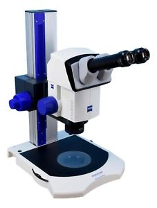 Zeiss Stereo Discovery V8 Stereo Microscope W Transmitted Light Base