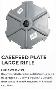 Dillon Case Feeder Plate Large Rifle P N 21075 Ready to Ship $167.88