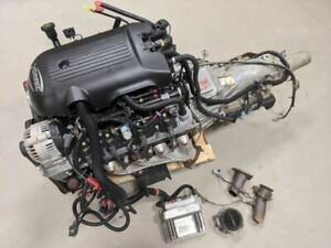 2002 Silverado 5 3 Engine Liftout 4l60e Transmission 2wd Dbc Clean Complete