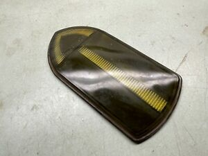 Turn Signal Arrow Glass Lens Bus Truck guide R t5 Vintage Yellow