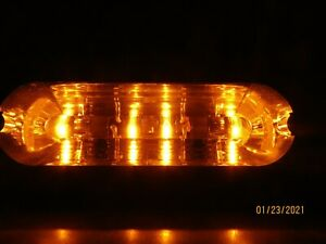 Whelen Liberty Light Bar All Amber Inboard Clearing Led Lights Tested nice