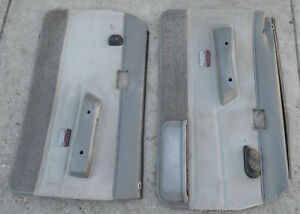 84 88 Toyota Sr 5 Truck Door Panels L R Gray Oem Parts Power Windows Project