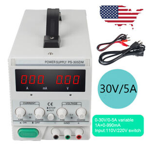 Fda Ps 305dm 30v 5a Variable Linear Dc Power Supply Switching For Lab Equipment