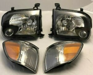 For 2005 2006 Toyota Tundra Double Cab 2005 2007 Sequoia Headlight park Lamp Set