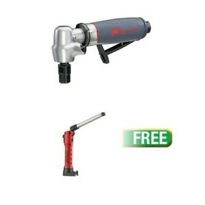 5102max Right Angle Die Grinder W free Strion Switchblade With Usb Cord Red