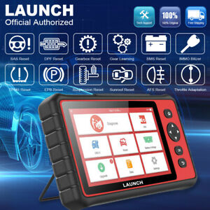 Launch X431 Crp909 Obd2 Scanner Full System Ecu Dpf Immo Tablet Diagnostic Tool