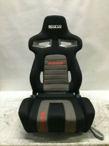 Sparco Racing Seat R333 Black red Scratch dent