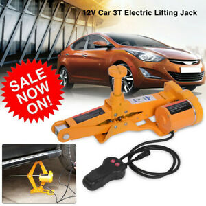 Big Sale 3 Ton 12v Dc Automotive Car Electric Jack Lifting Suv Van Garage