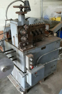 Vintage Wire Spring Coil Machine Metal Fabrication