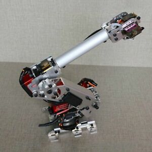 260mm 6 Axis Robot Arm Frame Mechanical Arm Industrial Robotic Model Unassembled