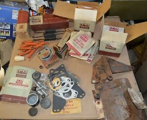 Lot Of 1950 s Nos Ford Fomoco Car Parts Mixed Lot