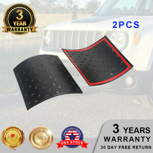 Side Hood Body Armor Cowl Cover Trim For Jeep Wrangler Jk 2007 2018 Accessories