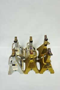 Lot Of 6 Mack Num 9331 Stylized Jack Stand And Acdelco Stylized Jack Stand