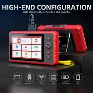 Launch Scanner Crp909x Pro Diagnostic Tablet Abs Airbag Tpms Key Dpf Reset Tool
