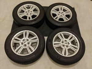 Ford Mustang Mustang Gt Oem 17 Inch Wheels Rims Tires W Center Caps Mint