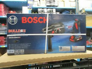 Bosch Bulldog Core18v 1 in Sds plus Variable Speed Cordless Rotary Hammer Drill