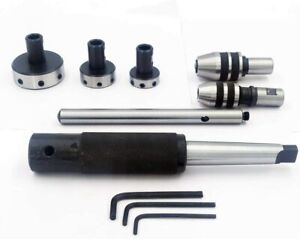 Mt3 Shank Threading Tapping Attachment lathe Tailstock Die Holder Set