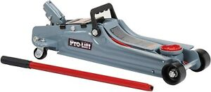Pro Lift Low Profile Hydraulic Floor Jack 2 Ton Car Truck Garage Vehicle Lifting