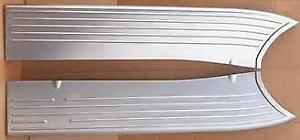 1940 Ford Pickup Truck Stamped Steel Running Boards as Original Us Made