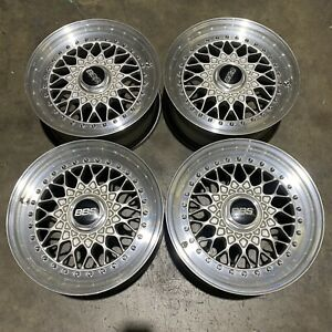 Bbs Rs032 15x6 5 17 Bmw Vw Toyota Nissan Mb Rs 32 Rare Flat Back