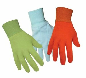 Boss Manufacturing Company West Chester Boss 418 Jersey Gardening Kids Gloves