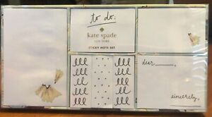 Kate Spade On Point Sticky Note Set 7 Different Sizes 100 Sheets Of Each