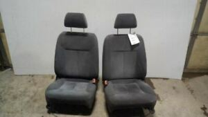 Black Front Bucket Seats Manual Cloth Fits 02 03 Mazda Protege 7463005